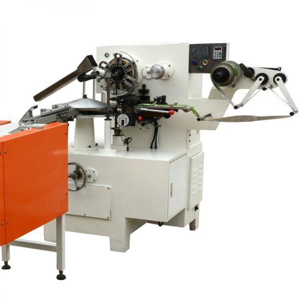Foil wrapping machine for hear chocolate