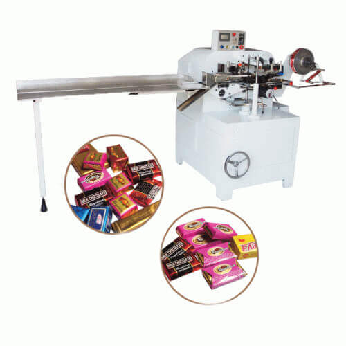 chocolate bar fold wrapping machine