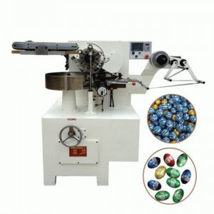 egg chocolate foil wrapping machine