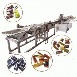 chocolate fold packing machine