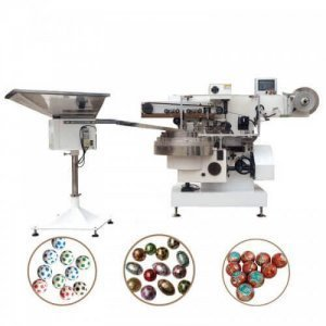 ball chocolate foil packing machine