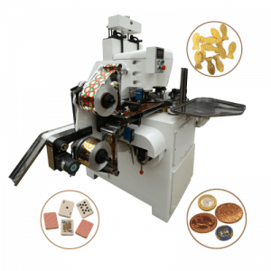Automatic Coin Chocolate Foil Wrapping Machine - China Manufacturer