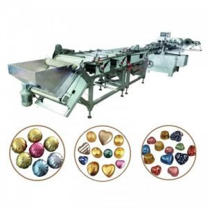 heart chocolate foil packing machine