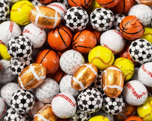 ball or egg chocolates